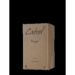 Domaine de Cabrol BIB 5L Rouge
