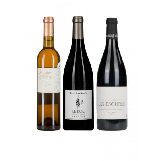 """Coffret vin Sud-Ouest """"Valeurs sûres"""""""