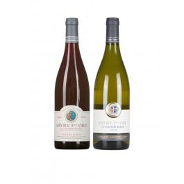 """Coffret vin Bourgogne """"Duo de Choc"""""""