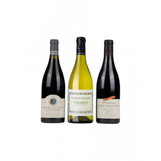 """Coffret vin Bourgogne """"Le meilleur de la Bourgogne"""""""