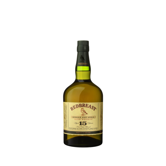 """Whiskey REDBREAST  """"15 ans d'âge"""""""