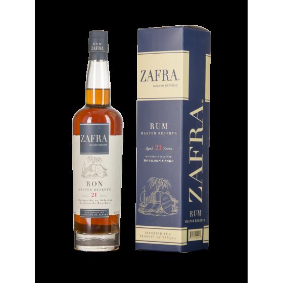 """Rum Zafra  """"Master Reserve""""  21 ans"""