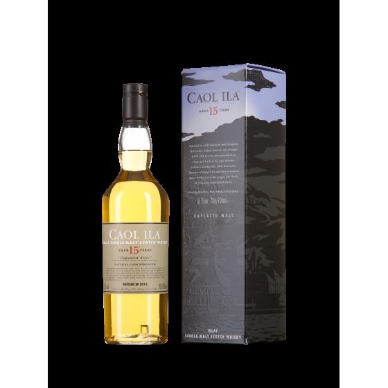 """Whisky Caol ila  15 ans """"Unpeated Style"""""""