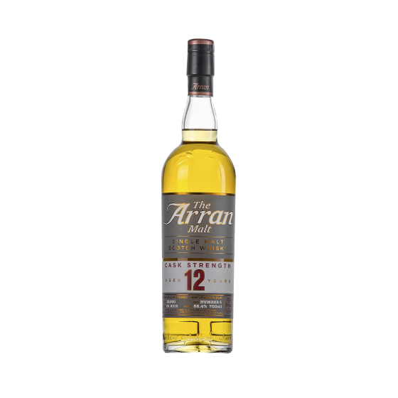"Whisky The Arran Malt  ""12 ans d'âge"" Cask Strength Batch 6"