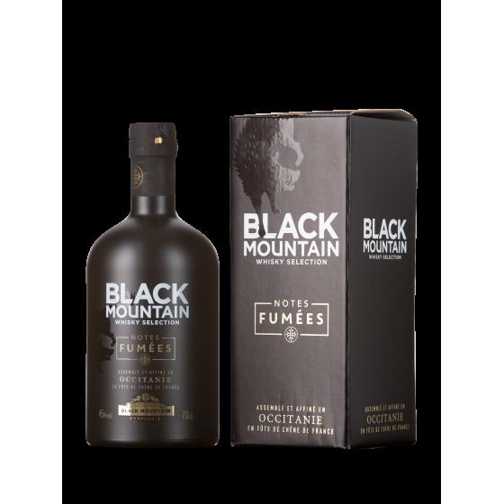 Whisky Black Mountain les notes fumées