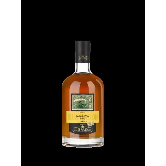 "Rum Nation ""Jamaïca 5ans"" Pot Still Sherry Finish Oloroso - Release 2016"