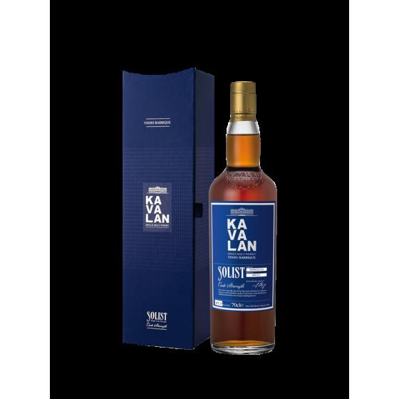 """Whisky Kavalan """"Vinho Barrique"""" Solist 59.40%"""