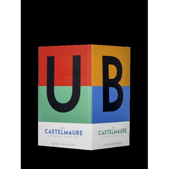 Cave de Castelmaure  Fontaine 10 litres 'Le Cubi'  Rouge