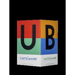 Cave de Castelmaure  Fontaine 5 litres 'Le Cubi'  Rouge