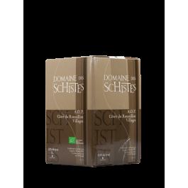 """Domaine des Schistes """"Bag In Box """" 5 litres Rouge"""