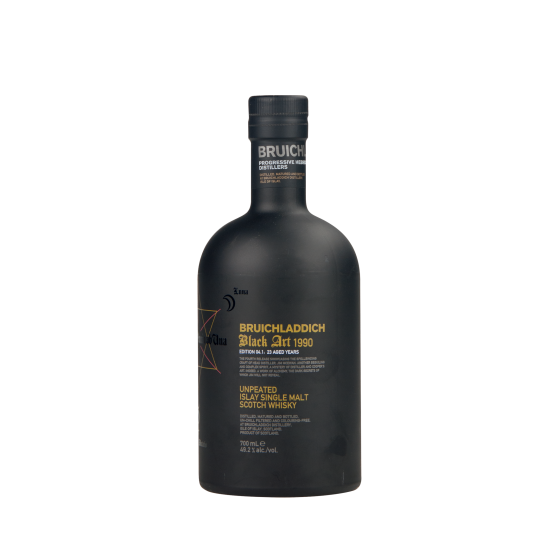 "Whisky BRUICHLADDICH  ""Black Art"" Edition 04 1990"