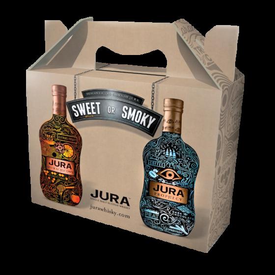 Whisky ISLE OF JURA Coffret 4 x 20cl