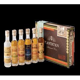"""Plantation Rum """"Coffret Dégustation 6 x 10cl"""""""