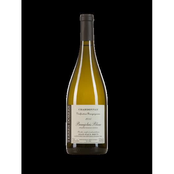 """Domaine Jean Paul Brun """"Vignification Bourguignonne"""" Blanc 2016"""