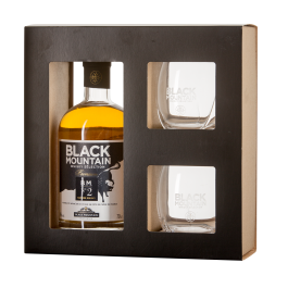 Coffret Whisky Black Mountain N° 2 + 2 verres