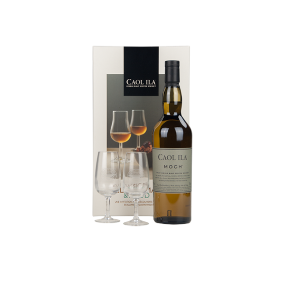 """Whisky Caol Ila """"Coffret Moch + 2 verres"""""""