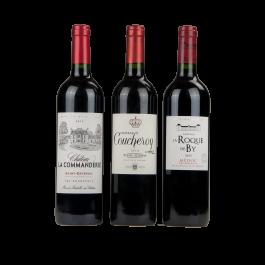 """Coffret vin Bordeaux """"Les Grands Bordeaux"""""""