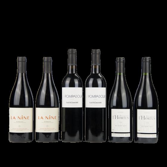 """Coffret vin Languedoc """"Collection Ensoleillée"""""""