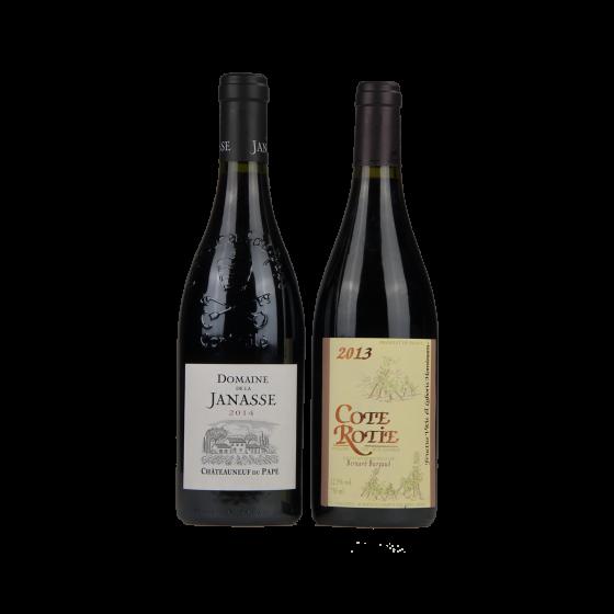 "Coffret vin Rhône ""Rhodanum Vallem"""
