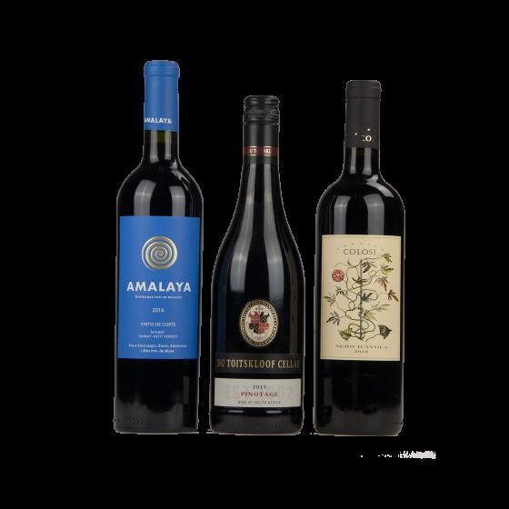 """Coffret vin Etrangers """"Cépages Authoctones"""""""