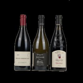 "Coffret vin Rhône ""Du Nord au Sud"""