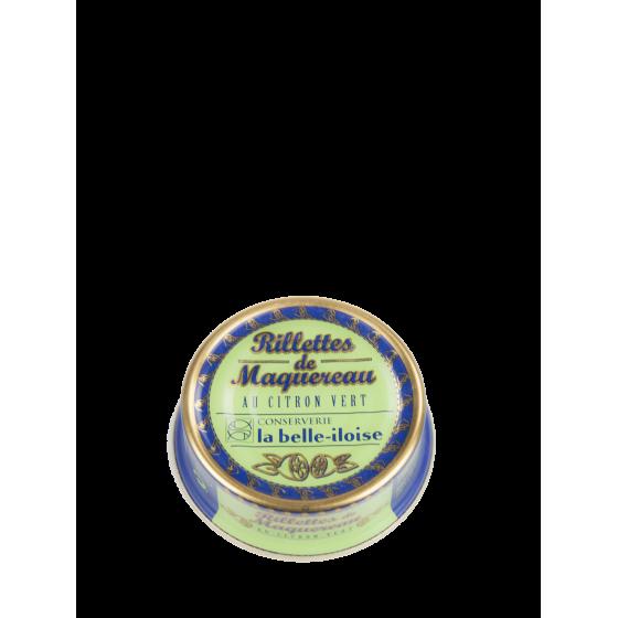 """La Belle-Iloise """"Rillettes de Maquereau au Citron Vert """" boîte 1/13"""