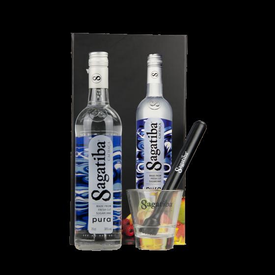 "Coffret Cocktail Cachaça ""Sagatiba"""