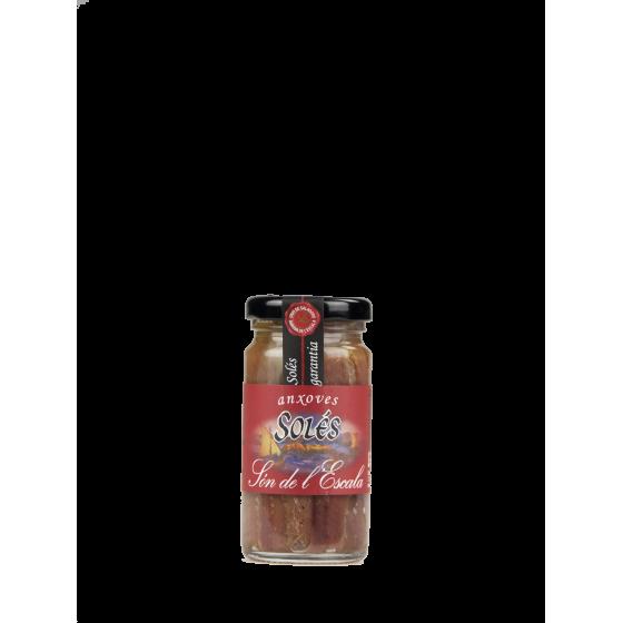 Anchois Solés Filets à l'huile 100gr
