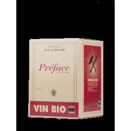 """Luc Lapeyre """"Préface"""" BIB5 Rouge"""