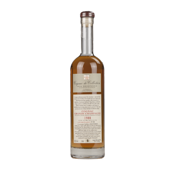 "Cognac Jean Grosperrin ""Grande Champagne"" 1988"