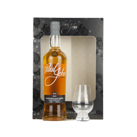 "Whisky ""Coffret Paul John Bold + 2 verres"""