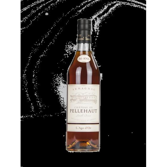 """Armagnac Pellehaut 40 ans d'âge """"L'Age d'Or"""""""