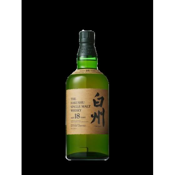 """Whisky Suntory """"Hakushu 18 ans"""""""