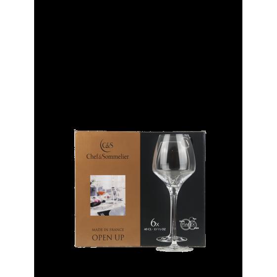 """Chef et Sommelier """"Tannic"""" Lot de 6 Verres à vins"""