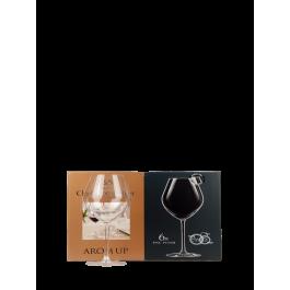 """Chef et Sommelier """"Fruity Red"""" Lot de 6 Verres à vin 43cl"""