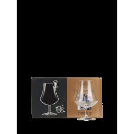"""Chef et Sommelier  """"Ardent"""" Lot de 4  Verres à Cognac-Armagnac"""