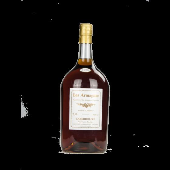 Armagnac LABERDOLIVE Domaine de Jaurrey 1995 Pot
