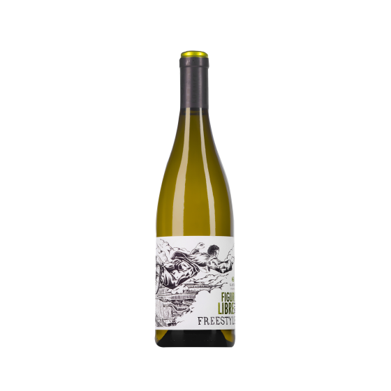"Domaine Gayda  ""Freestyle Figure Libre"" Blanc sec 2016"