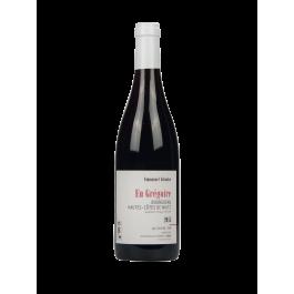 """Domaine Emmanuel Giboulot """"En Grégoire""""  Rouge 2017"""