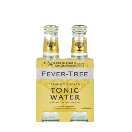 "Fever Tree ""Tonic Water"" 4 bouteilles de 200ml"