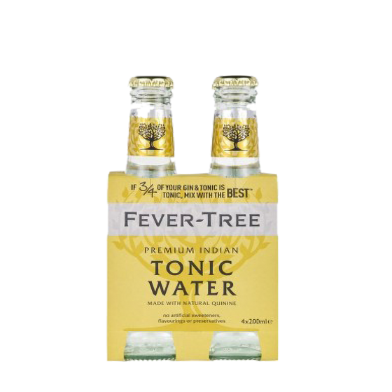 "Fever Tree ""Tonic Water"" 4 bouteilles de 200ml"