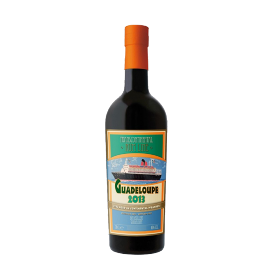 """Transcontinental Rum Line """"Guadeloupe"""" 2013"""