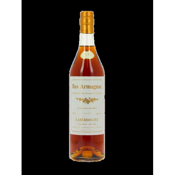 Armagnac LABERDOLIVE  Domaine de Jaurrey  1974