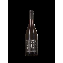 """Les Vignerons d'Estézargues  """"Le Vin d'Ive Rhône"""" Rouge 2018"""