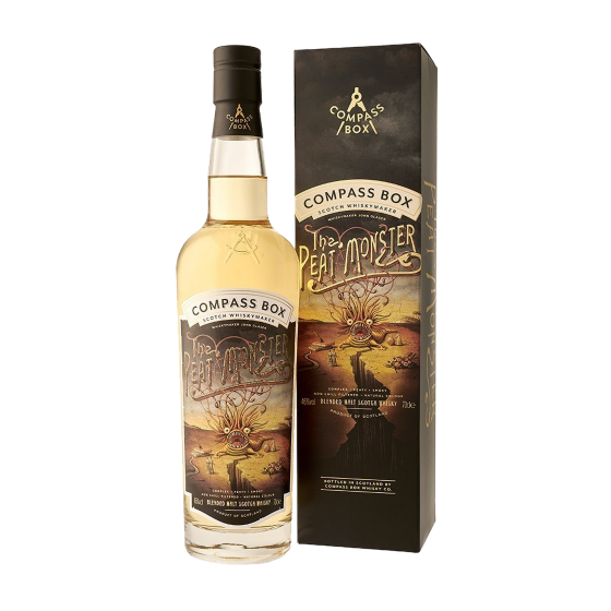 """Whisky Compass Box """"The Peat Monster"""""""