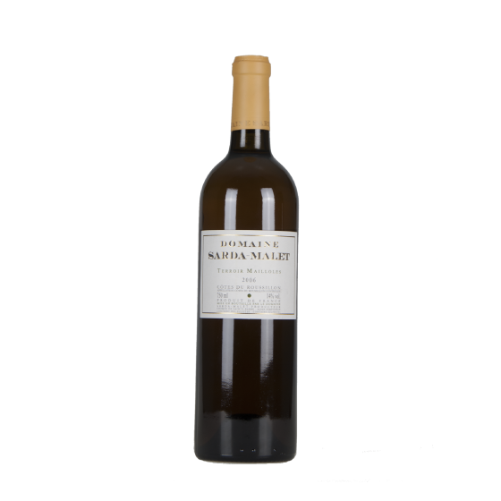 "Domaine Sarda Malet  ""Terroir Mailloles""  Blanc 2006"