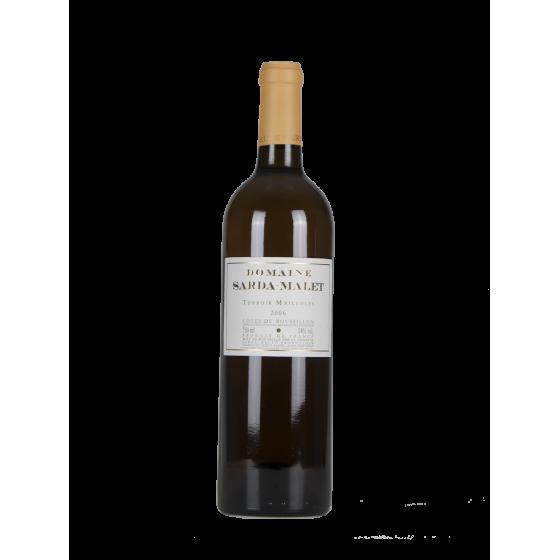 "Domaine Sarda Malet  ""Terroir Mailloles"" Blanc sec 2007"