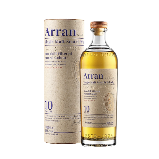 "Whisky The Arran Malt  ""10 ans d'âge"""