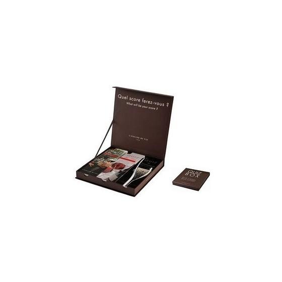 Quiz Box (Bordeaux + Bourgogne + Champagne)
