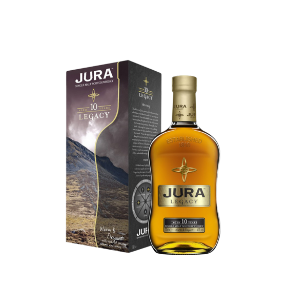 "Whisky Isle of Jura ""10 ans Legacy"""